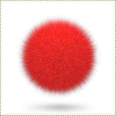 Как сделать пушистые шарики фото 865