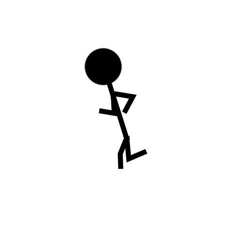 Бегающий человек.