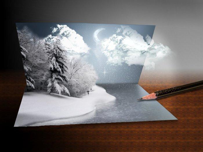 Как сделать своими руками объемную открытку
