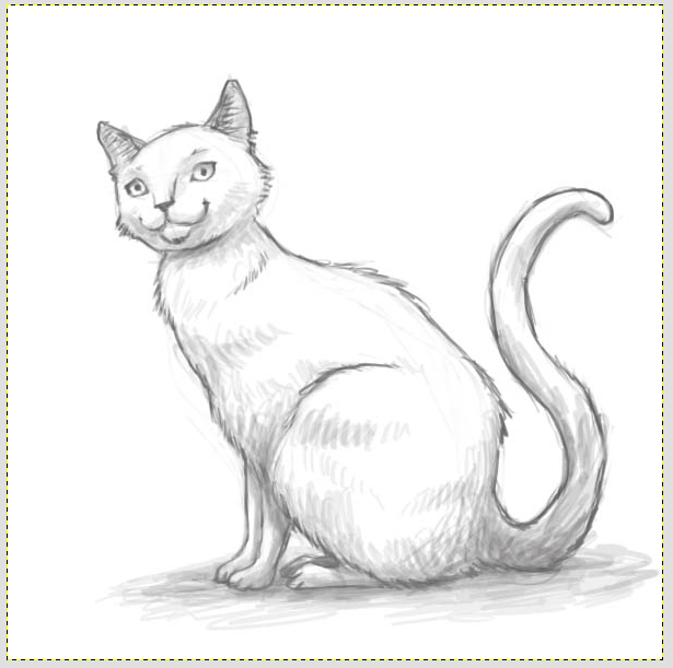 Маленкий.  Поделиться FB.  Профессиональные рисунки котов - нео куб рисунки Скачать.