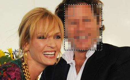 замазать фон на фото онлайн квадратиками